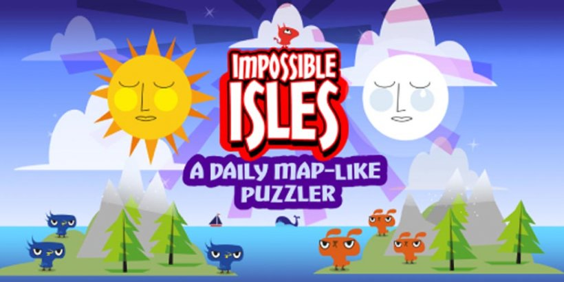 Impossible Isles is a daily map-like puzzler that's completely free-to-play, out now on iOS and Android