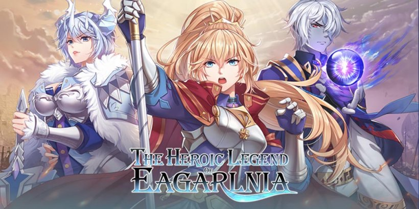 The Heroic Legend of Eagarlnia is a grand strategy game from PC that's out now on mobile devices