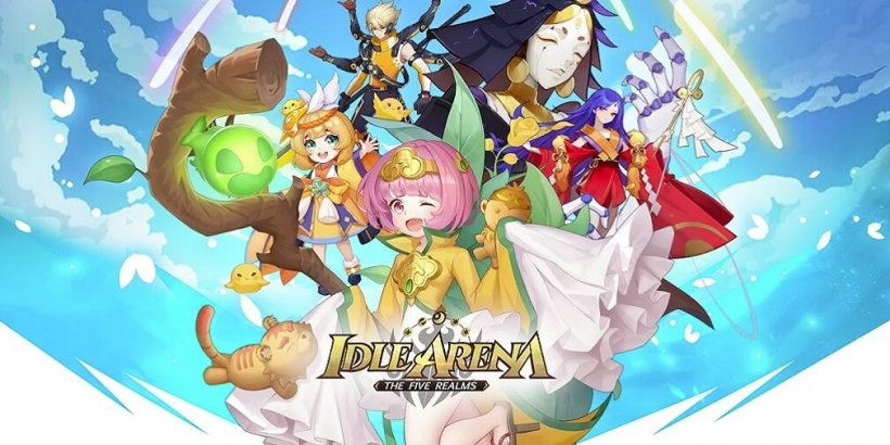 Idle Arena: The Five Realms, Kuukigame's first mobile RPG, is now out for Android and iOS