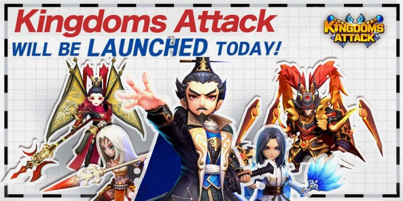 Kingdoms Attack is a new mobile RPG game from Digging Games Network that is now out on Android