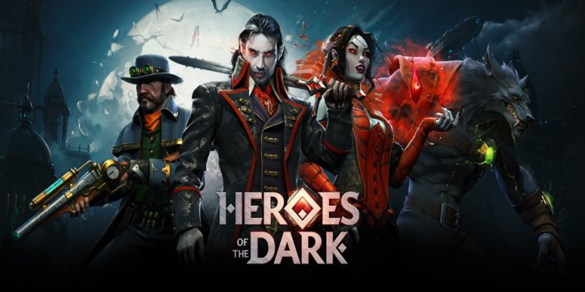 Heroes of the Dark, showcased at the Apple keynote yesterday, is launching worldwide on Halloween