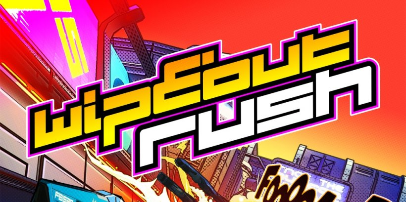 wipEout Rush is an upcoming card-based racer with merge mechanics that's heading for iOS and Android this year
