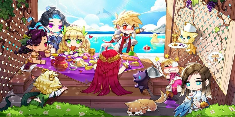 Olympus: Idle Legends is a tactical RPG that's now available for Android and iOS