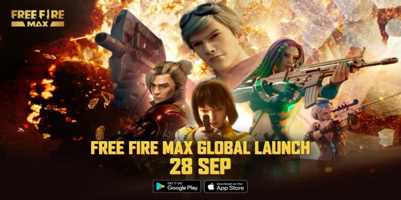 Free Fire MAX, the graphically enhanced version of the battle royale, is coming to mobile next week