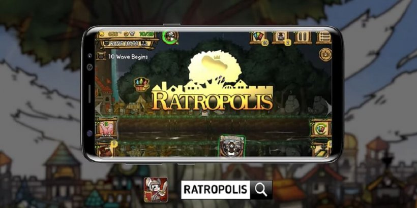 Ratropolis is a real-time deck-building game, now available on iOS
