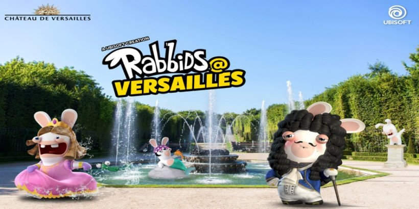 Ubisoft launches Rabbids at Versailles, an AR game in the garden of Versailles for children