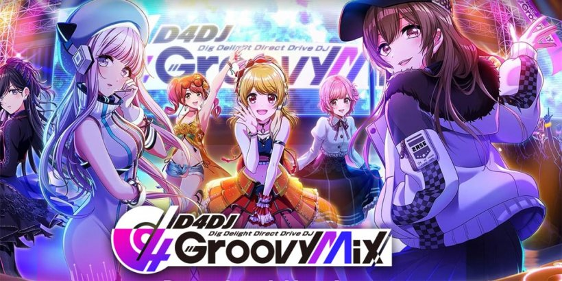 D4DJ Groovy Mix, the anime-themed DJ rhythm game, will host a hololive in-game event with new cards and a livestream