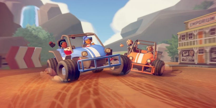 Rec Room launches a multiplayer cross platform racing game - Rec Rally