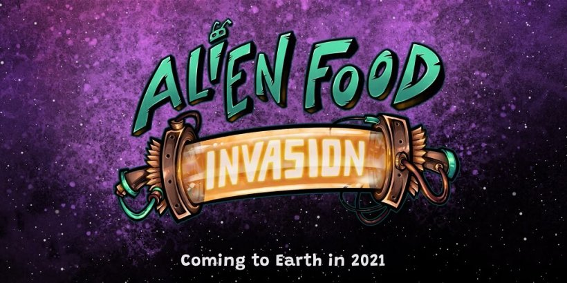 Alien Food Invasion is a unique action game where you take out aliens and then serve them as food