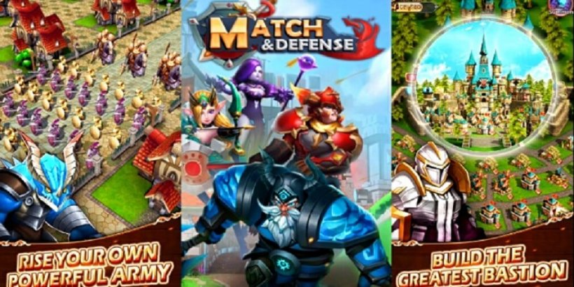 Match & Defense: Match 3 game's early access version is now available for Android