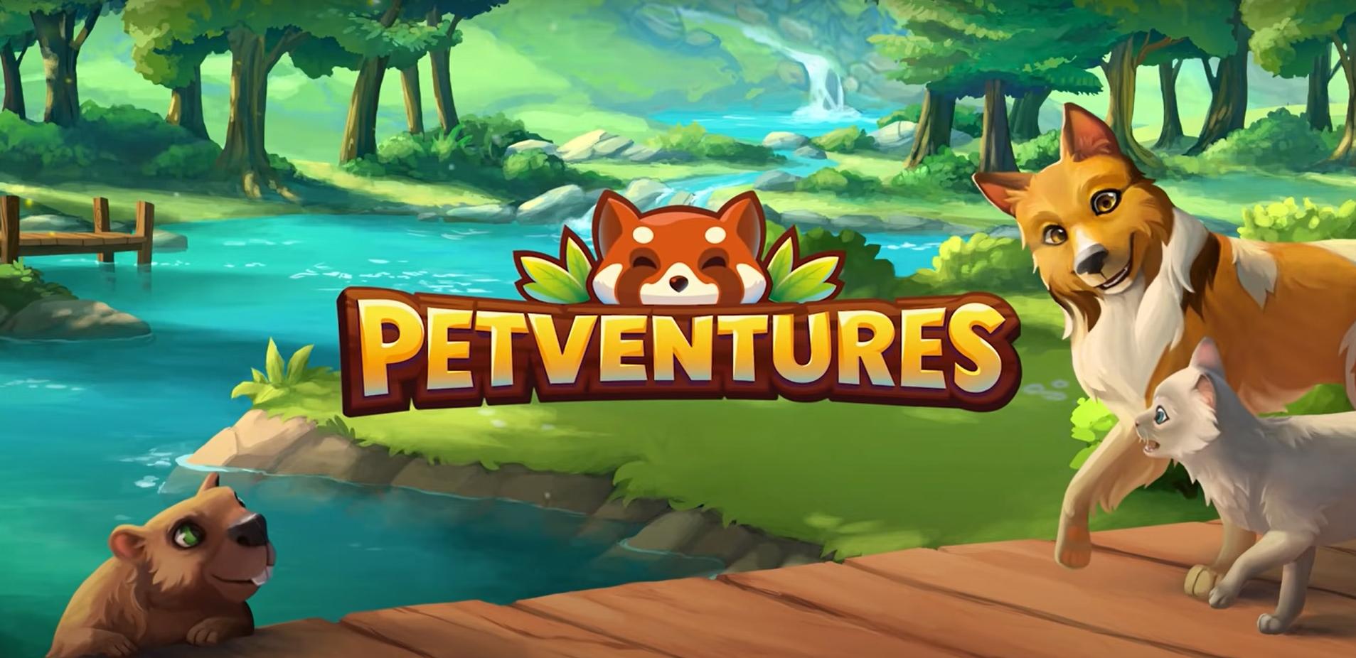 Occupez-vous d'adorables animaux dans Petventures, de sortie sur mobiles