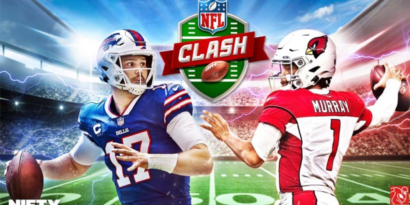 NFL Clash, the officially licensed mobile game for football fans, is out now on iOS and Android