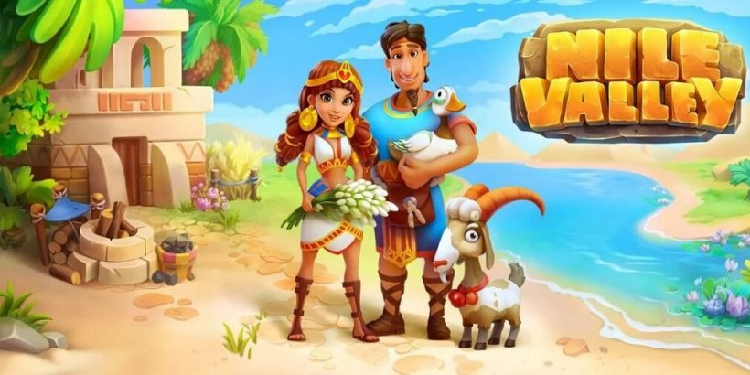 Nine Valley is a farming simulator set in the wild territories of ancient Egypt, now out for Android