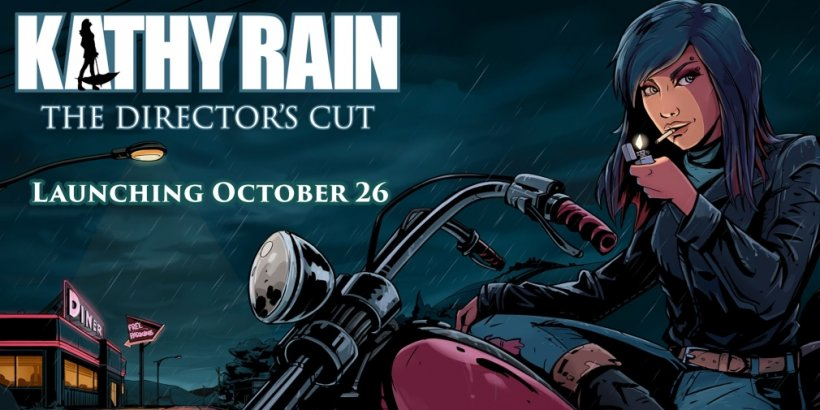 Kathy Rain: Director's Cut, a revamped version of the point-and-click adventure game, is heading for iOS and Android this month