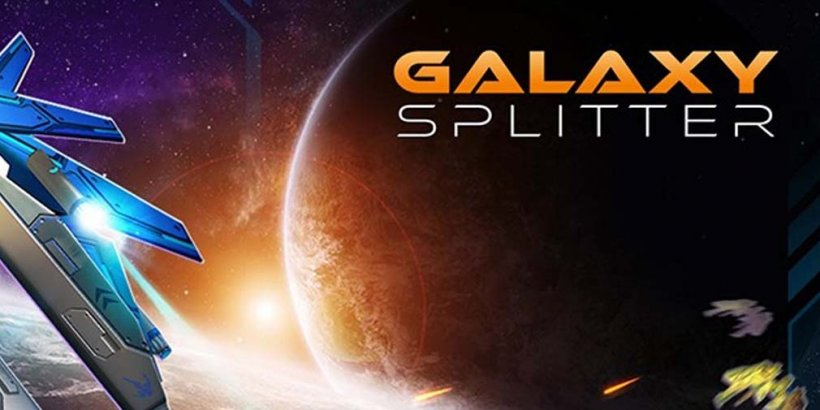 Galaxy Splitter, upjers and NeoBird's new fighter pilot shoot 'em up, is out now for Android devices