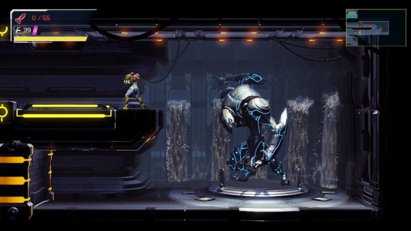 Metroid Dread character