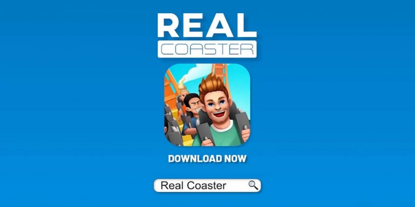 Real Coaster: Idle Game is a new title from Raventurn Games that allows you to build your dream theme park