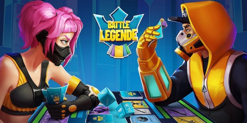 Battle Legende is a real-time multiplayer strategy card game that is now out on Android