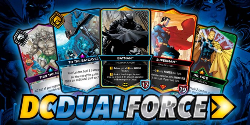 DC Dual Force is an officially licensed DC Comics CCG from Cryptozoic Entertainment and YUKE'S coming in 2022