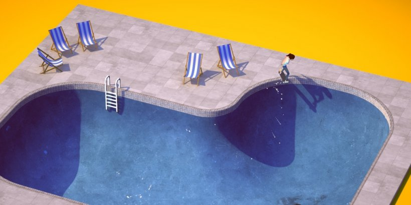 The Ramp is a relaxing skateboarding game with a focus on flow that's heading for iOS next month