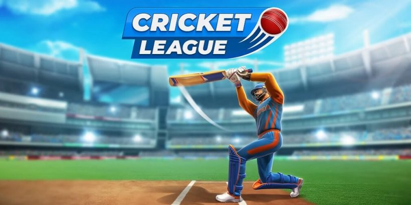 Cricket League is a 3D multiplayer game that features quick two over matches, now up for pre-registration on Android