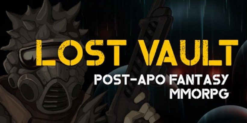 Lost Vault is a variation of an idle and active MMORPG that is now out on Android and iOS