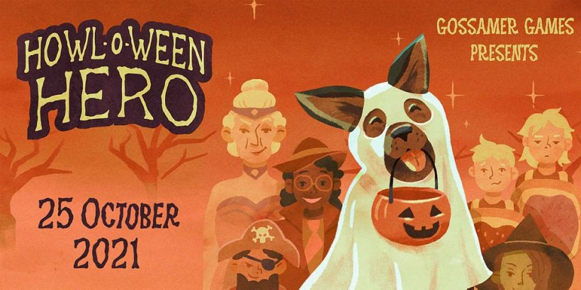 Howloween Hero lets you play as a trick-or-treating doggo, coming to iOS on October 25th