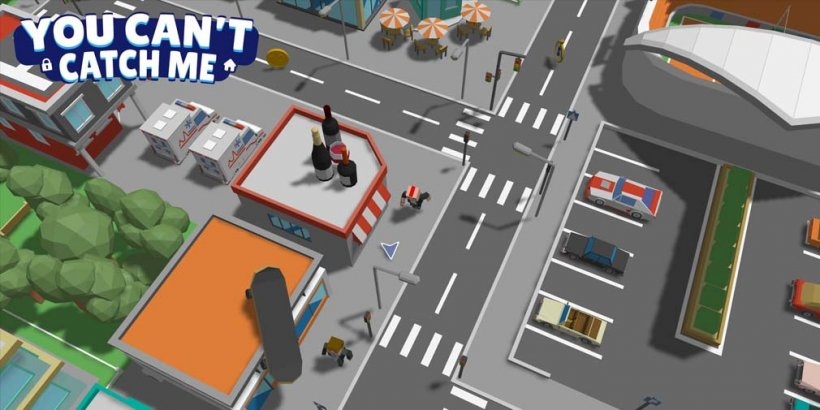 """""""You can't catch me"""" lets you avoid the police while you pick up your kids from school, out now on iOS and Android"""