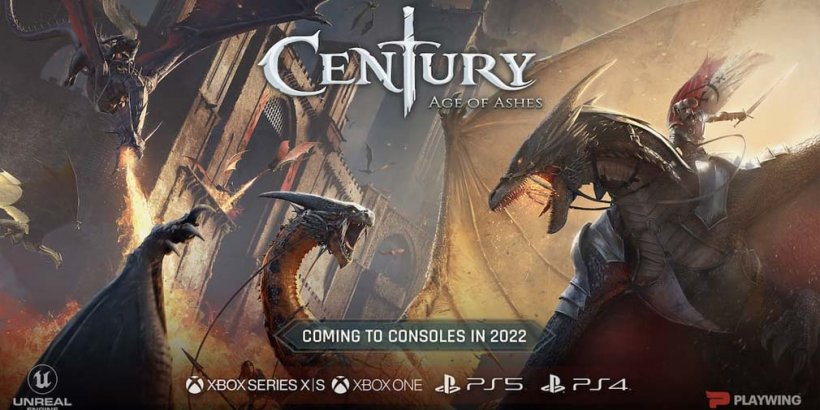 Century: Age of Ashes is a PvP battler with customizable dragons, coming to mobile in 2022
