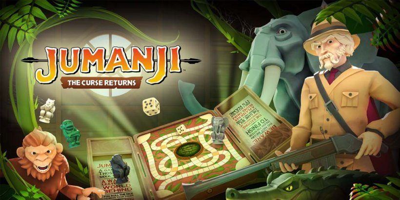 JUMANJI: The Curse Returns reimagines the classic film into a digital board game, now open for pre-orders on iOS and Android
