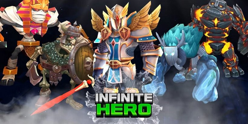 Gamepub's Infinite Hero: 3D Idle RPG has just soft-launched in select countries