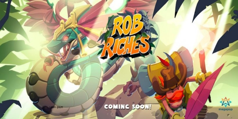 Rob Riches, a thrilling puzzler with over 100 unique puzzles, is launching on mobile next month