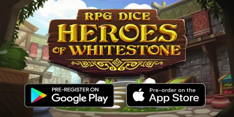 RPG Dice: Heroes of Whitestone is a tabletop-inspired character battler RPG launching next year