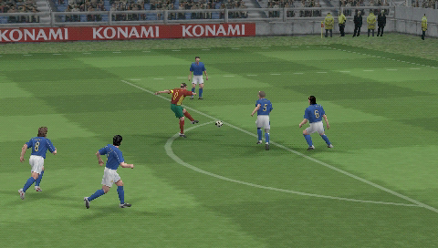 Pro Evolution Soccer 5 | Articles | Pocket Gamer