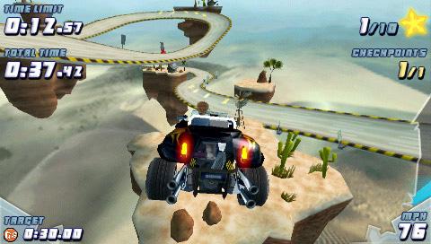 Wacky Stunt Racing for PSP