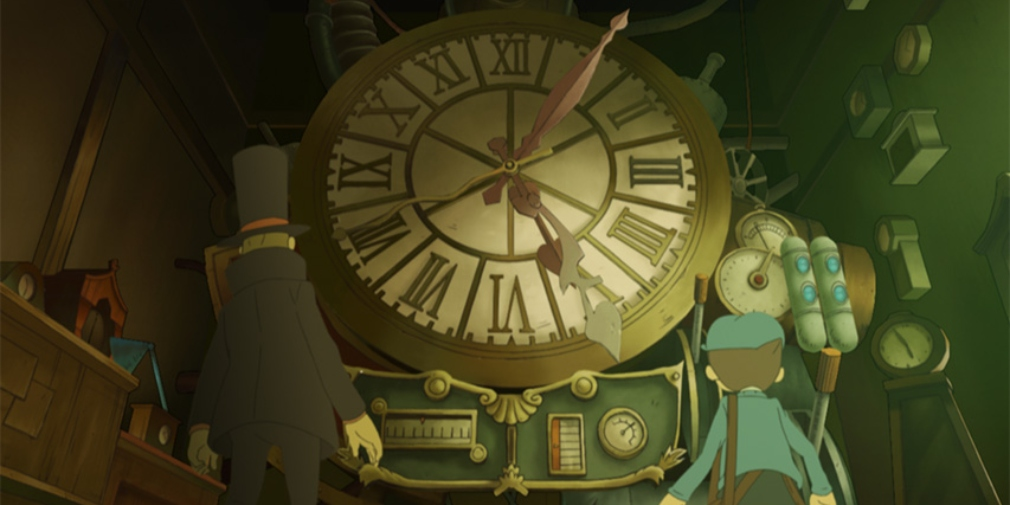 Professor Layton and the Lost Future, the third instalment in the popular series, will release for iOS and Android on 13th July