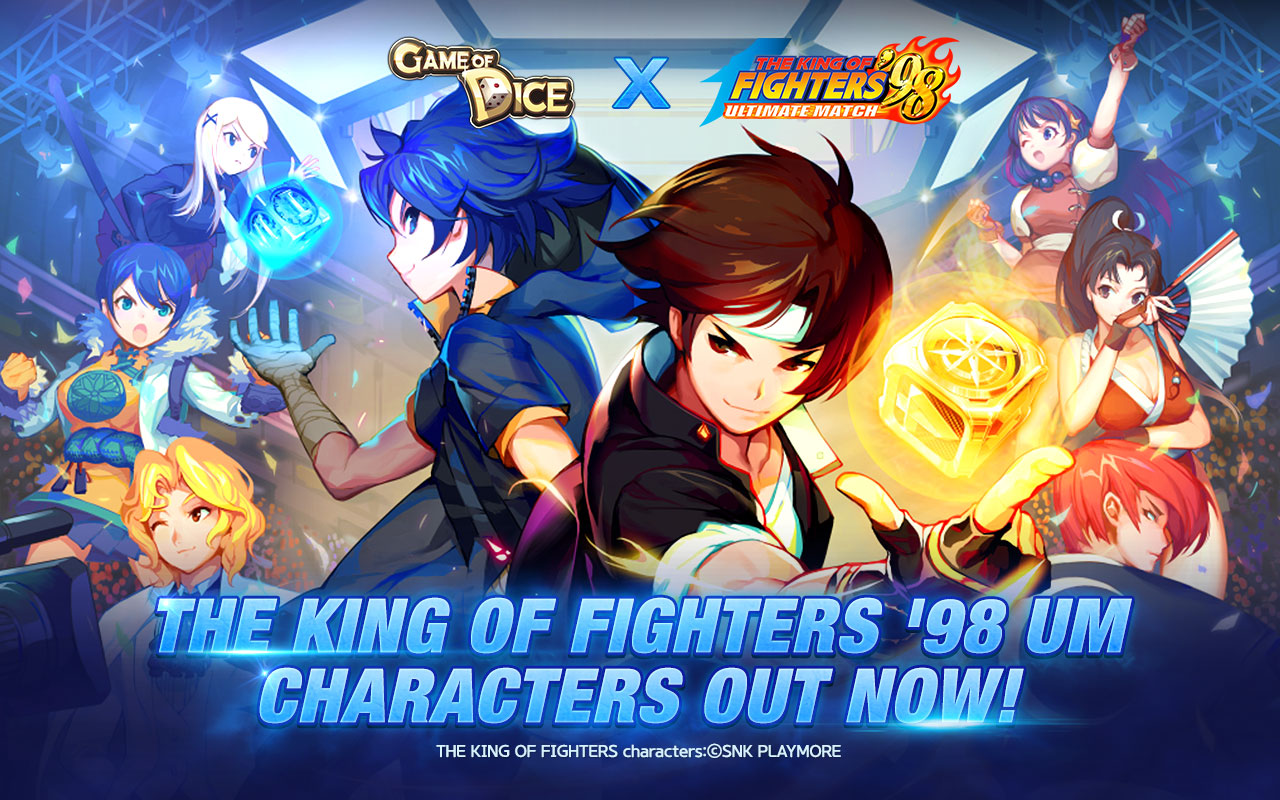 JoyCity have released a new update for Game of Dice with another cool King of Fighter's twist