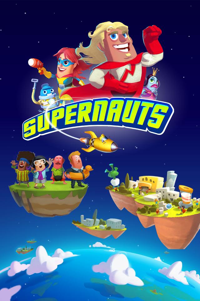 Supernauts iPhone Wallpaper