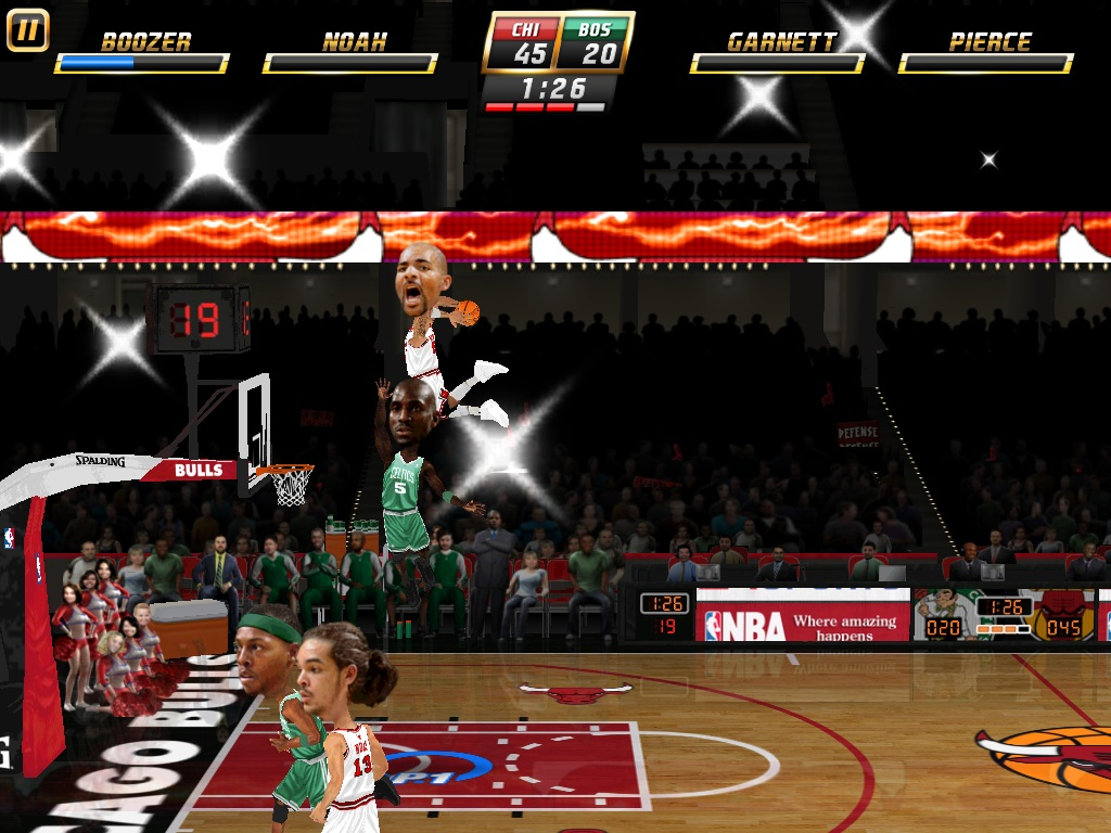 Local multiplayer marks iPad release for NBA Jam