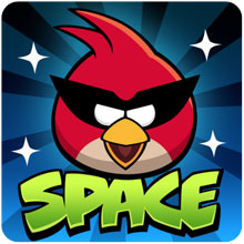 Angry Birds Space: 3-star video walkthroughs for Beak Impact (Levels 8-21 to 8-40)