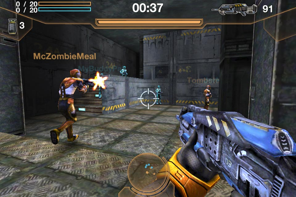 iOS FPS Archetype gets 12 new levels in update