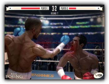 Motion-controlled fighter Real Boxing will punch its way onto the UK and US App Stores tomorrow