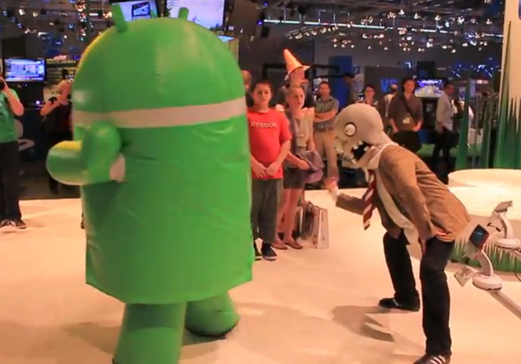 Gamescom '11: Plants vs Zombies coming to Xperia Play
