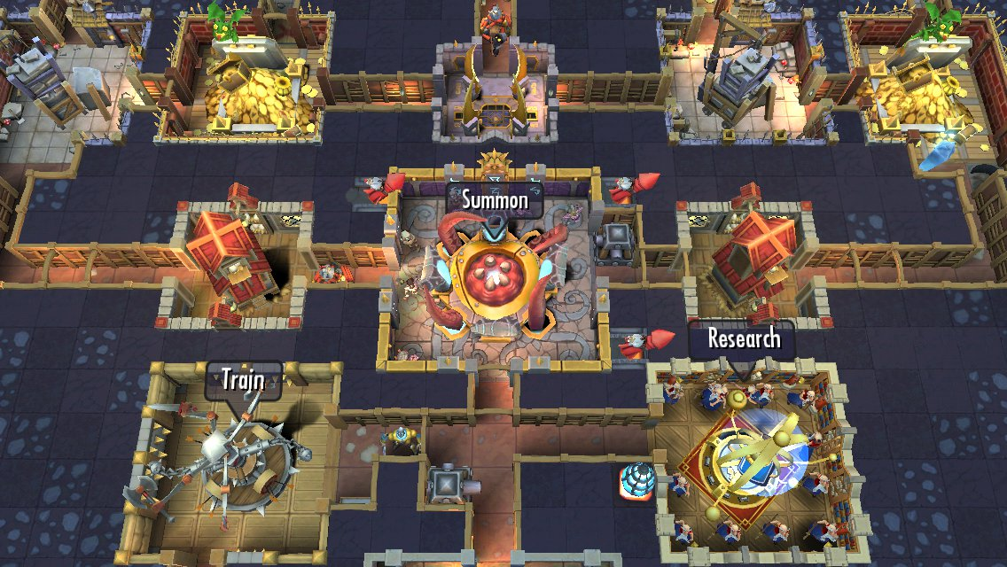 An ad for EA's F2P Dungeon Keeper has been banned for omitting info about IAPs and timers