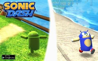 Sonic Dash updated with unlockable Andronic the Droid Hog - Sonic has never looked so good