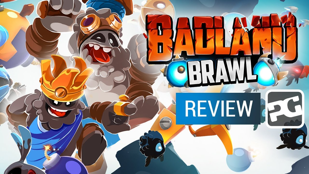 "Badland Brawl video review - ""Clash Royale vs Angry Birds in a forest"""