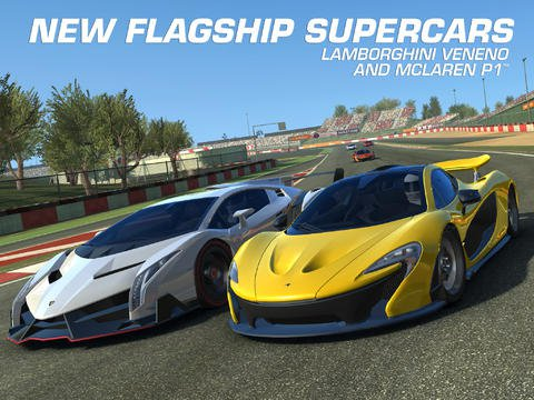 Real Racing 3 for iPad and iPhone has been updated with real-time multiplayer