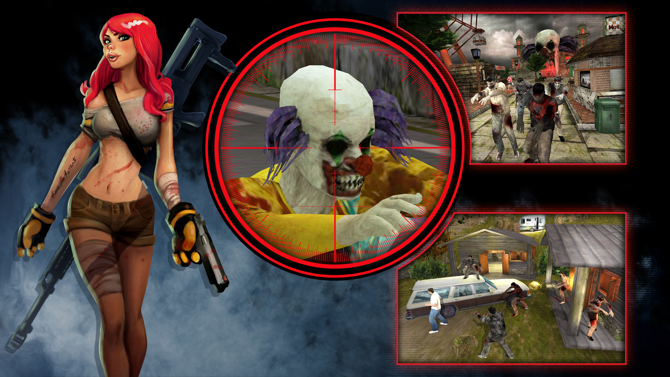 Download Zombie Hunter right now to receive the fan-favourite M16 for free