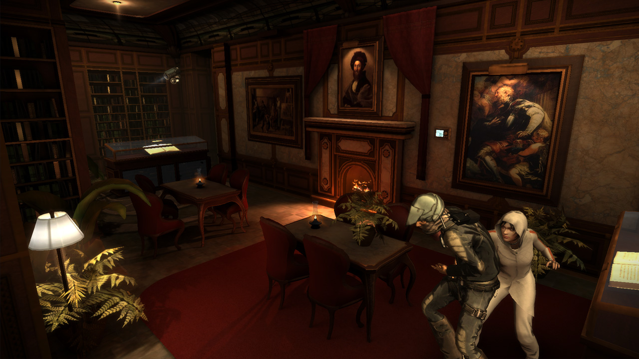 République, the Triple A one-touch-ish stealth game is out right now for Android