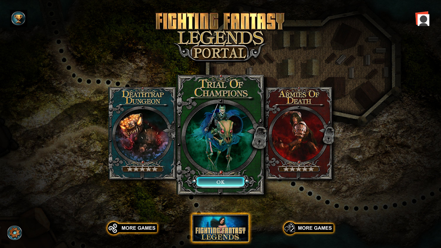 Live at 5pm UK time, TableTap takes on Fighting Fantasy Legends Portal on Twitch